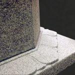 岩手県南相馬市に建之された八角五輪塔です。現代の名工谷本雅一が、全て手加工で製作しました。東日本大震災で被災された方々の供養塔として製作しました。第2回日本石塔展覧会「優秀賞」受賞作品です。日本3大銘石の一つである奈良石を使用しました。台座蓮華部分パーツ写真です。