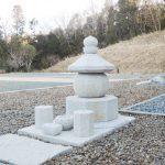 岩手県南相馬市に建之された八角五輪塔です。現代の名工谷本雅一が、全て手加工で製作しました。東日本大震災で被災された方々の供養塔として製作しました。第2回日本石塔展覧会「優秀賞」受賞作品です。日本3大銘石の一つである奈良石を使用しました。